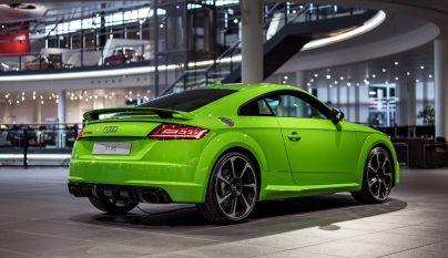 Audi TT RS verde lima 4