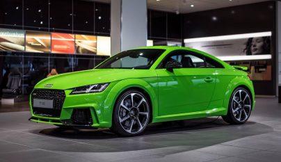 Audi TT RS verde lima 5