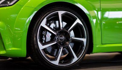 Audi TT RS verde lima 6