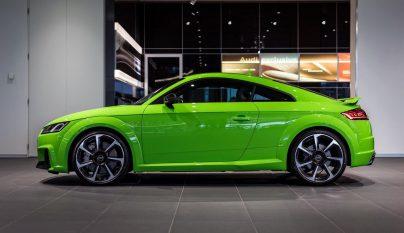 Audi TT RS verde lima 7