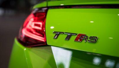 Audi TT RS verde lima 9