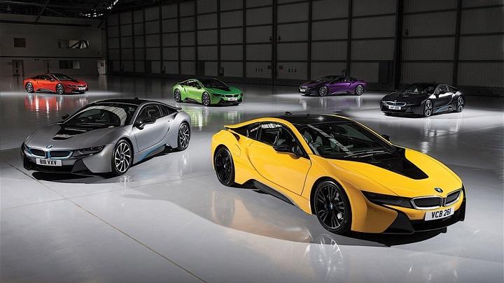 BMW i8 colores 5