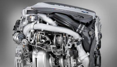 BMW motor diesel de cuatro turbos 2