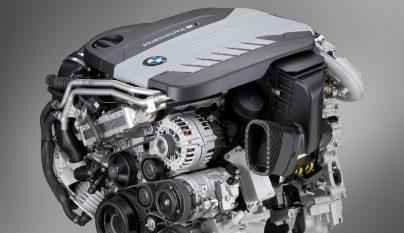 BMW motor diesel de cuatro turbos 3