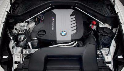 BMW motor diesel de cuatro turbos 6