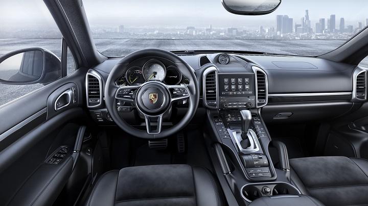 Interior de un Porsche