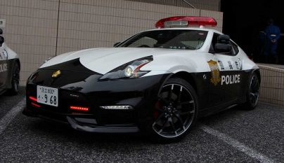 Nissan 370Z policia Japon