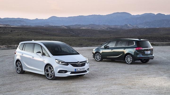 Opel Zafira 2017 2