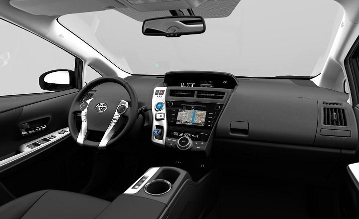 Toyota Prius Plus 2016 interior
