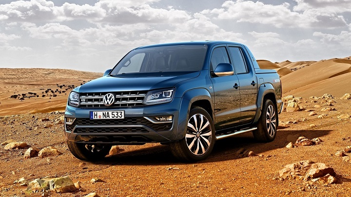 Volkswagen Amarok 2017 frontal