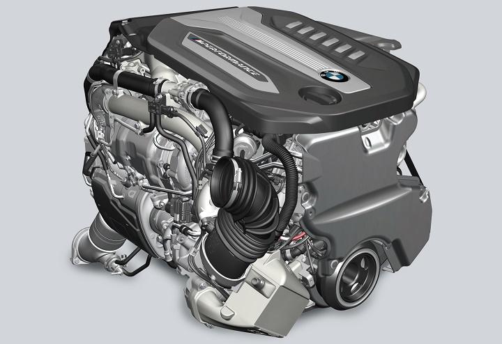 motor BMW cuatro turbos
