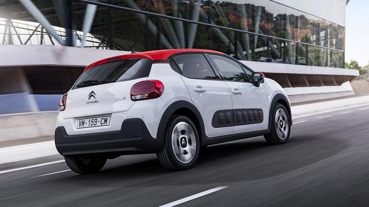 Citroën C3 zaga tres cuartos