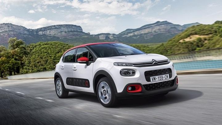 Citroën C3 frontal tres cuartos