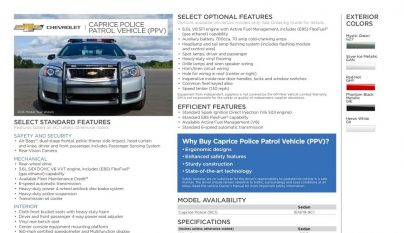 Chevrolet Caprice policia 5