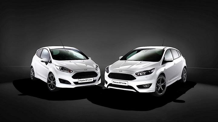 Ford Fiesta y Focus ST-Line 1
