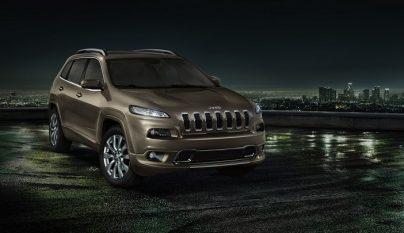 Jeep Cherokee Overland 2016 frontal tres cuartos