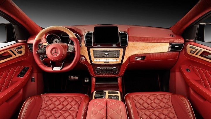 Mercedes-Benz GLE Coupe piel de cocodrilo 1