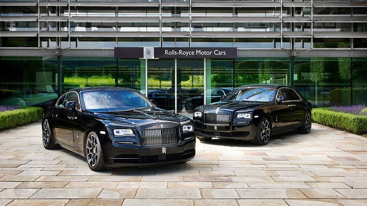 Rolls-Royce Ghost y Wraith Black Badge