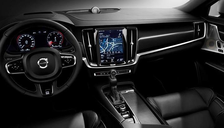 Volvo S90 R-Design interior 2