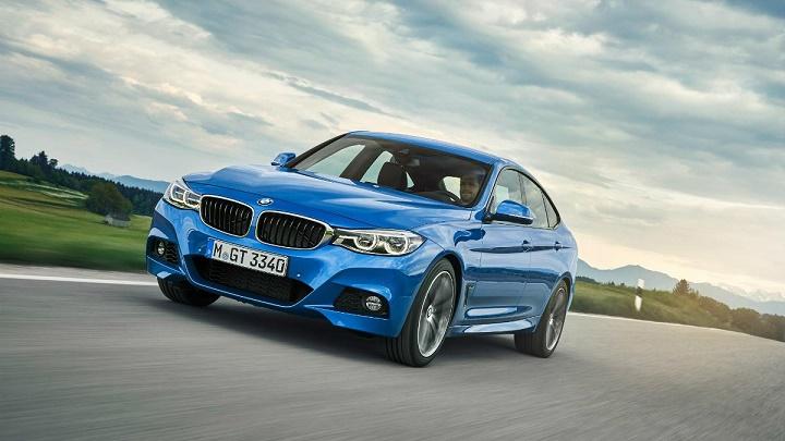 BMW Serie 3 Gran Turismo frontal tres cuartos
