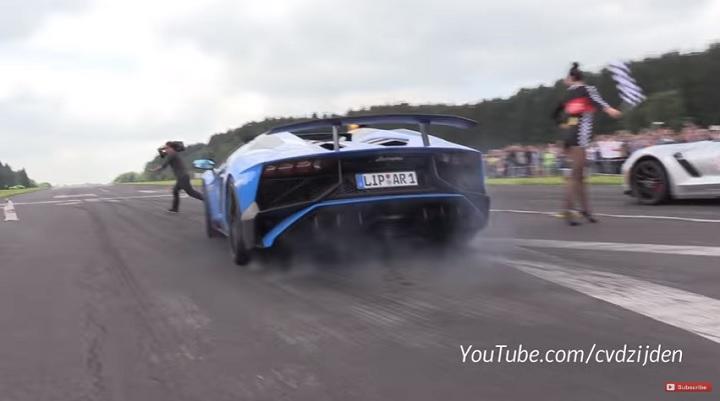 Lamborghini Aventador camara