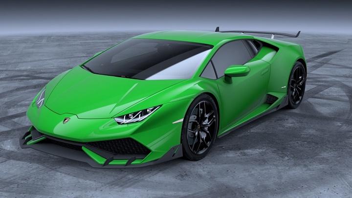 Lamborghini Huracan verde