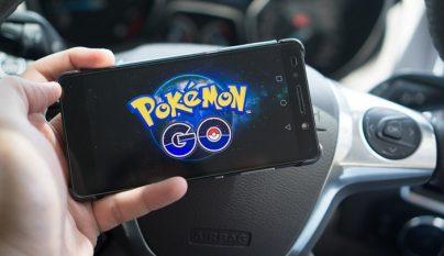 Pokemon Go coche