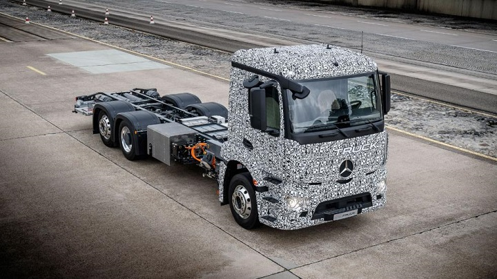 Mercedes Benz Urban e Truck