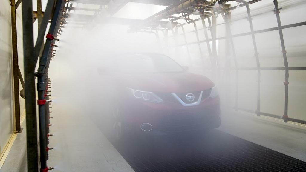 pruebas estanqueidad Nissan 3