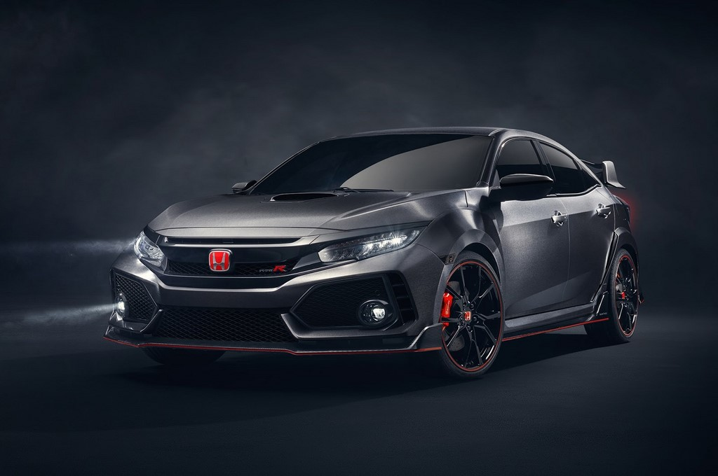 Honda Civic Type R 2017 fotograf as oficiales 3 8