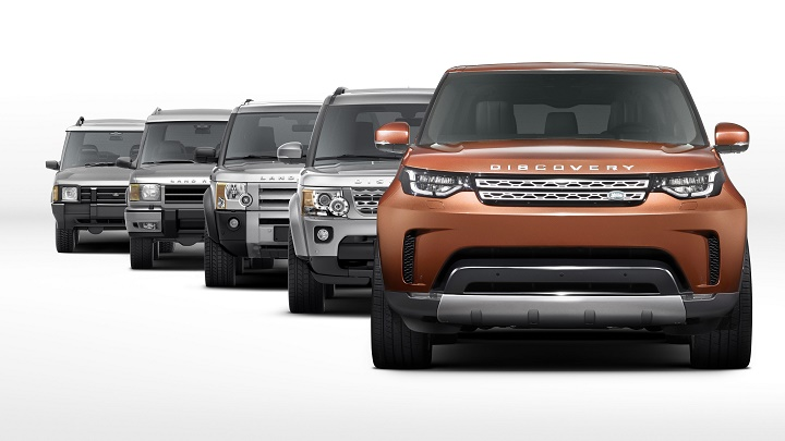 Land Rover Discovery 2017 1