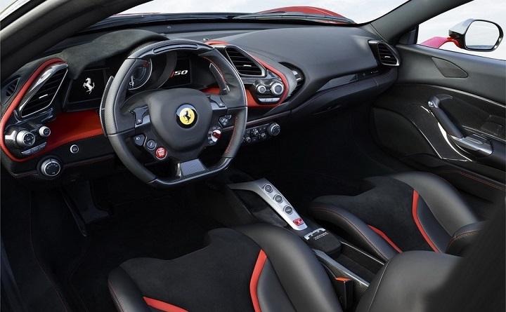 Ferrari-J50-interior