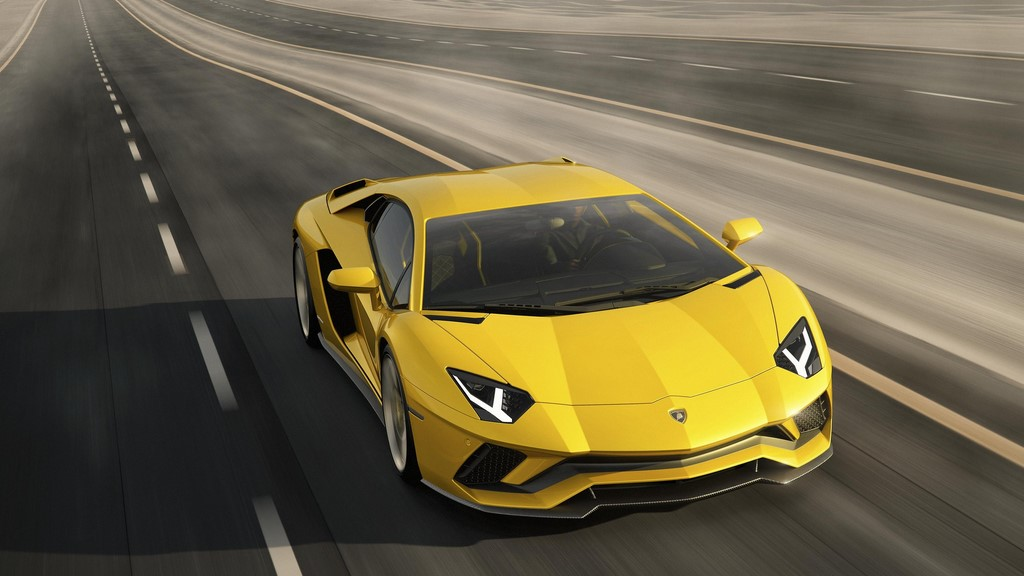 Lamborghini-Aventador-S frontal tres cuartos