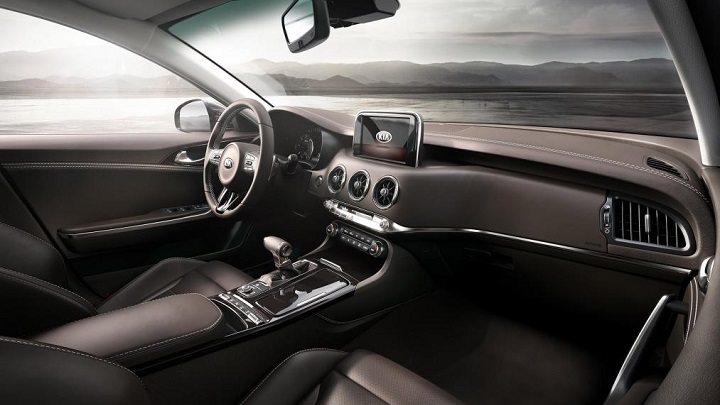 Kia-Stinger interior