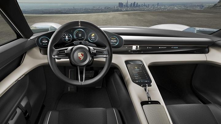 Porsche-Mission-E-interior