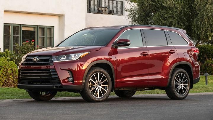 Toyota-Highlander-rojo