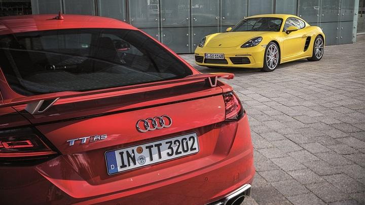 Audi-y-Porsche