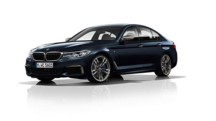 BMW-M550d-xDrive-frontal-tres-cuartos