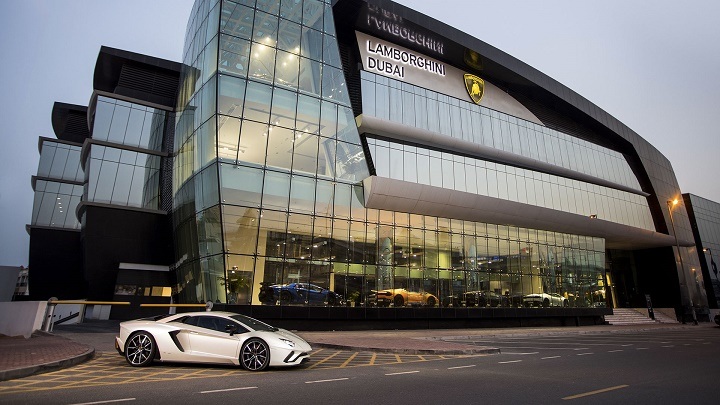 Lamborghini-Dubai
