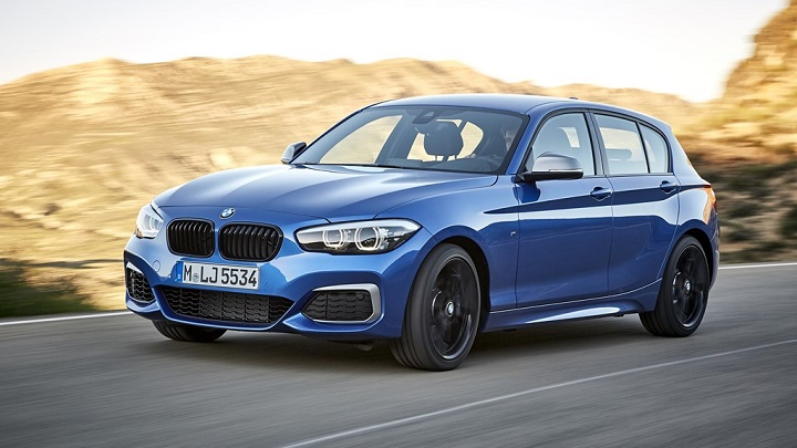 BMW-Serie-1-2017-frontal-tres-cuartos