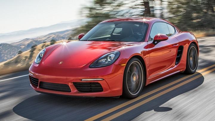 Porsche-rojo