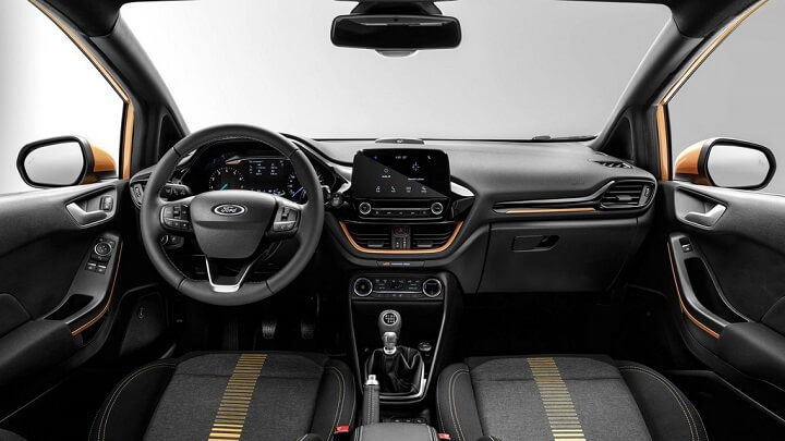 Ford-Fiesta-Active-2018-interior
