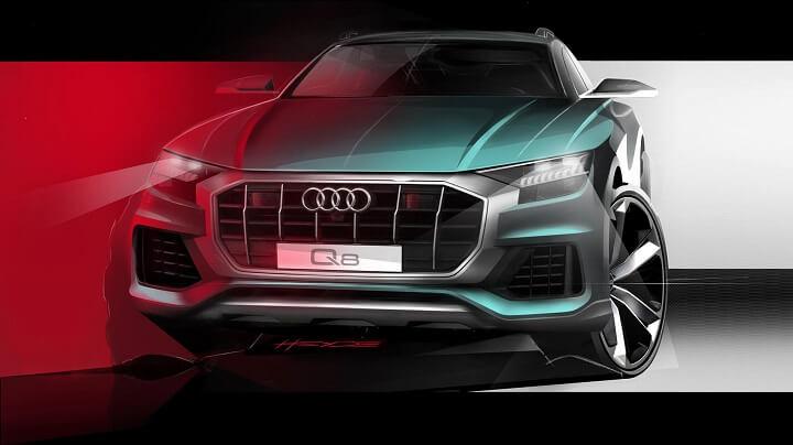 boceto-Audi-Q8-frontal