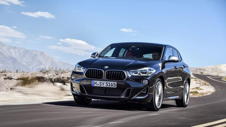 BMW-X2-M35i-frontal-tres-cuartos